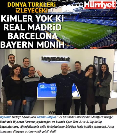 Haberlerde futbol üzerine teknolojik yaklaşımlar